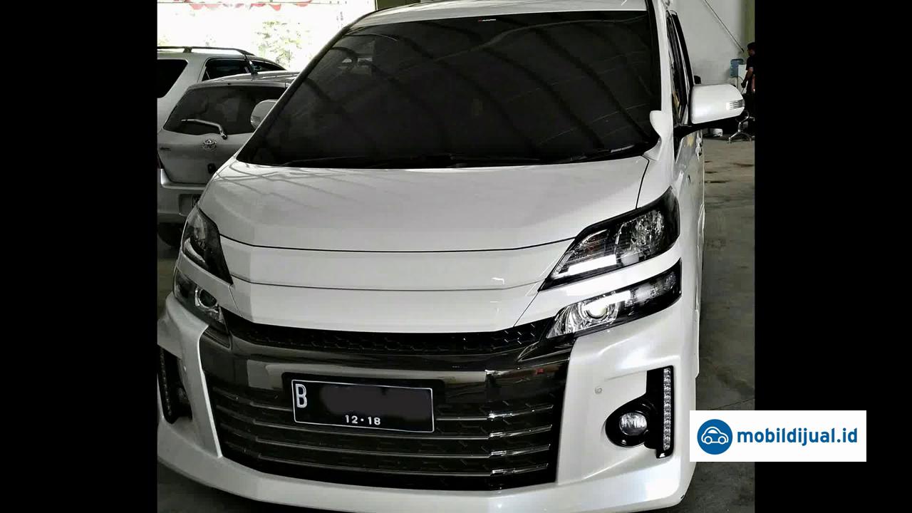 2013 Toyota Alphard G